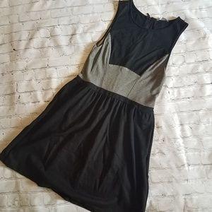 Tart Black & Gray Mini Dress